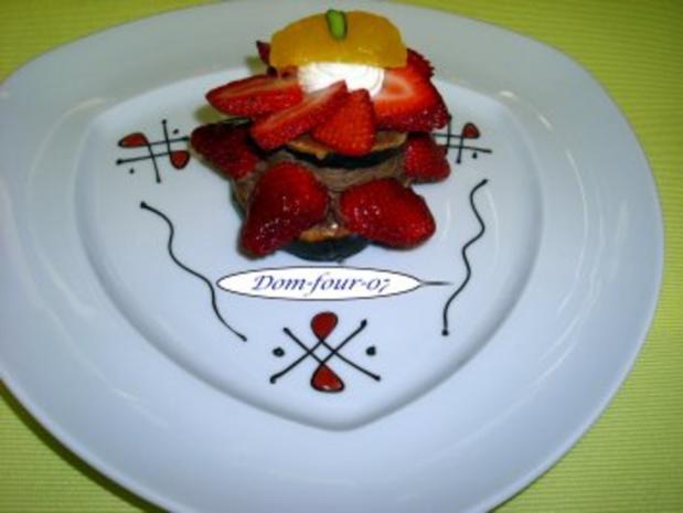 Erdbeer-Schokoladen-Sahne-Windbeutel - Rezept - Bild Nr. 3