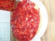 Erdbeer-Vanille- Torte - Rezept
