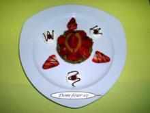 Erdbeertörtchen schlicht und einfach........ - Rezept