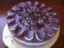 Schoko Jogurt Birnen Torte - Rezept