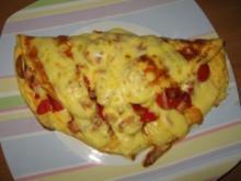 Omelette pikant - Rezept