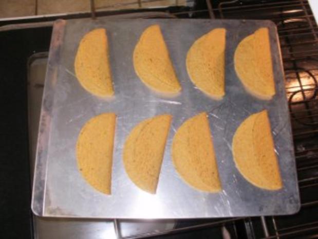 Tacos - Sued West  Arizona Tacos mit Huehnerfleisch Streifen und Taco Gewuerz - Rezept - Bild Nr. 4