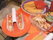 Tacos - Sued West  Arizona Tacos mit Huehnerfleisch Streifen und Taco Gewuerz - Rezept