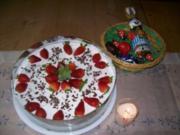 Erdbeertorte mit Joghurtcreme (aus meinem KB) - Rezept