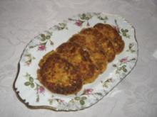 Zucchini-Paprika Reibekuchen - Rezept