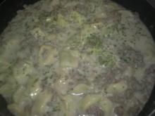 tortellini . hackfleisch - pfanne - Rezept