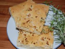 Kräuterfladen - Rezept