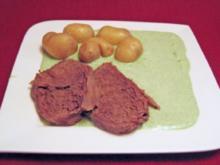 Tafelspitz mit Frankfurter Grüner Soße und Salzkartoffeln - Rezept