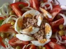 Bunter Salat  -so richtig zum satt werden- - Rezept