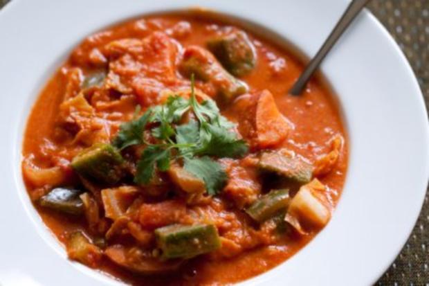 Bohnen-Lamm-Bredie (Gemüseeintopf aus Südafrika) - Rezept
