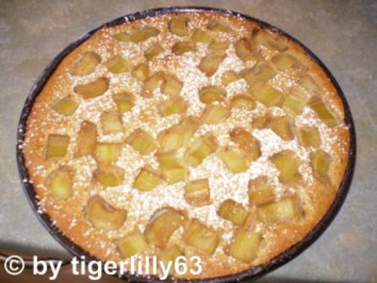Rhabarber-Eierlikör-Tarte - Rezept von tigerlilly63