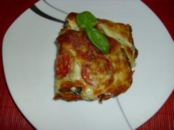 Tomaten-Mozarella-Schnitten - Rezept