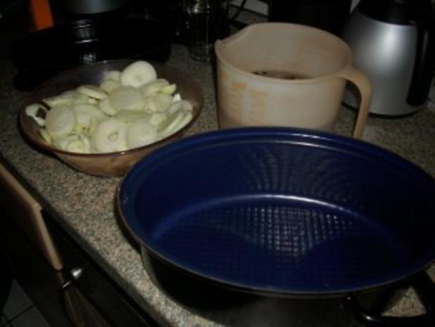 Bratheringe  eingelegt mit vielen Zwiebeln - Rezept - Bild Nr. 4