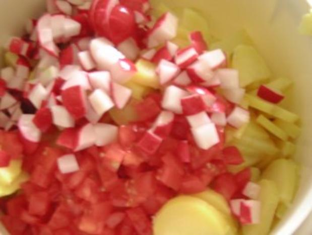 Bunter Kartoffelsalat - Rezept - Bild Nr. 3