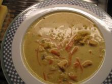 Asia-Curry-Suppe - Rezept
