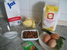 Brot + Brötchen: Vanille-Hefekranz mit Rosmarin - Rezept
