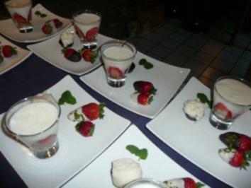 DESSERT:Erdbeer-Joghurt-Törtchen - Rezept