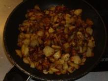 Pfannengerichte: Bratkartoffeln aus rohen Kartoffeln - Rezept