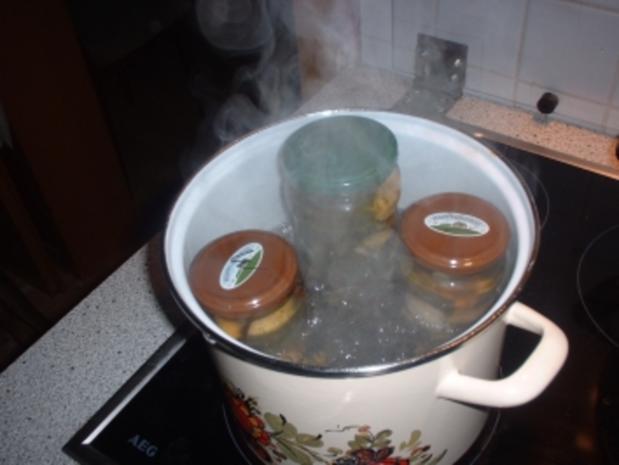 Eingekochte Gurken - Rezept