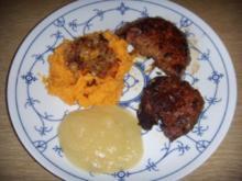 Kalbsleber mit Süßkartoffel-Püree - Rezept