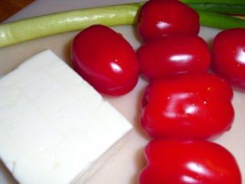 Tomaten-Schafskäse-Salat - Rezept