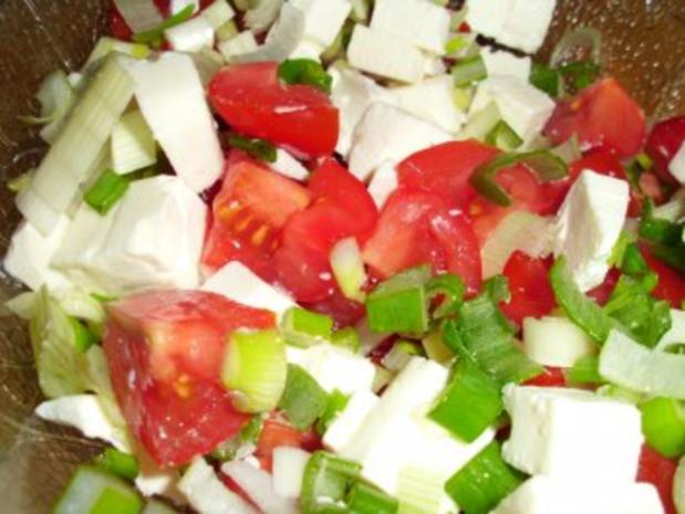 Tomaten-Schafskäse-Salat - Rezept - Bild Nr. 2