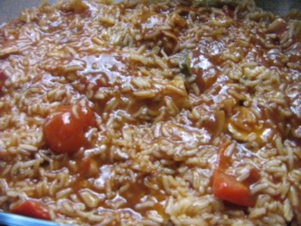 Nudel-Reisauflauf mit Pute und Gemüse - Rezept - Bild Nr. 4