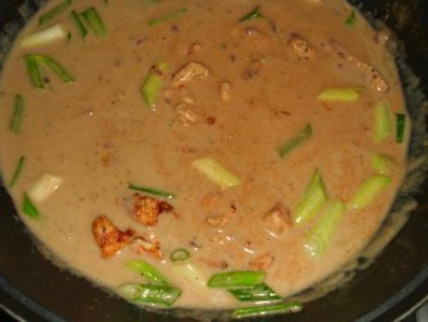 Erdnuss-Pute mit Lauchzwiebeln - Rezept - Bild Nr. 5