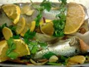 Asiatisch gebeizte Lachsforelle - Rezept