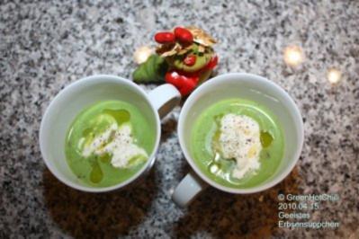Geeistes Erbsensüppchen (Mit Bild und Raupi) - Rezept