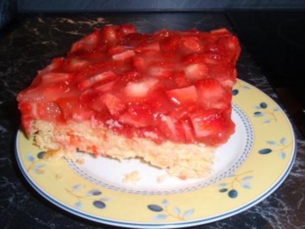 Erdbeer-Polenta-Schnitten - Rezept - Bild Nr. 3