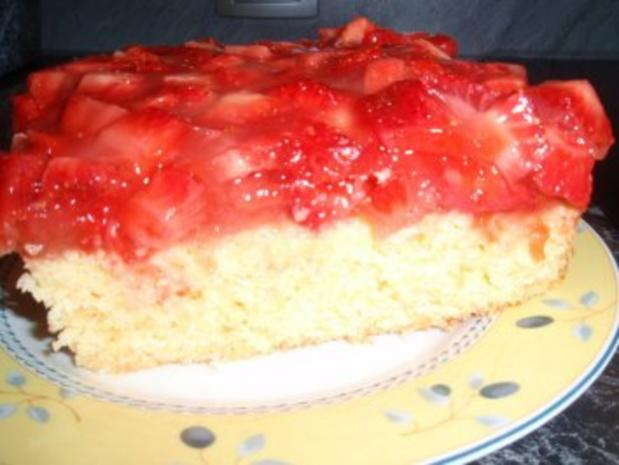 Erdbeer-Polenta-Schnitten - Rezept - Bild Nr. 4