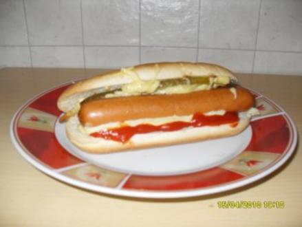 Hot Dogs - Original! - Rezept