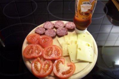 Mein schnelles und leckeres Abendbrot - Rezept