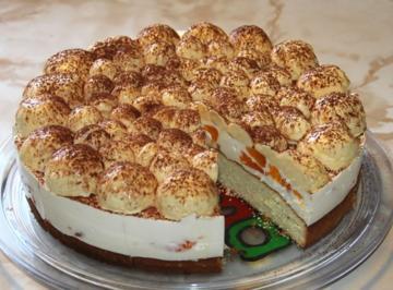 Vogelsberger Schneeball-Torte - Rezept