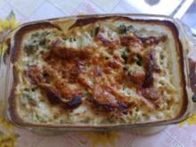 Nudel-Brokolie-Auflauf - Rezept