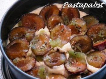 Kiwi-Pflaumen-Kuchen - Rezept