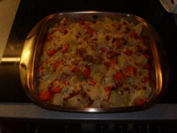 Überbackenes: Wurzelgemüse mit Parmesan - Rezept