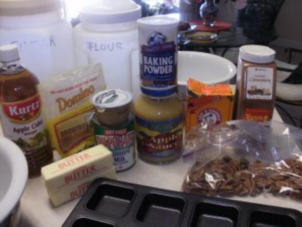 Kuchen - Kleine Apfelbrei - Butterkuchen - Aroma geht durch das ganze Haus - Rezept - Bild Nr. 2