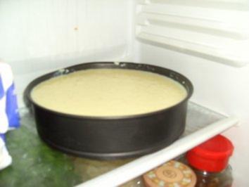 Kirch auf Reiskuchen - Rezept