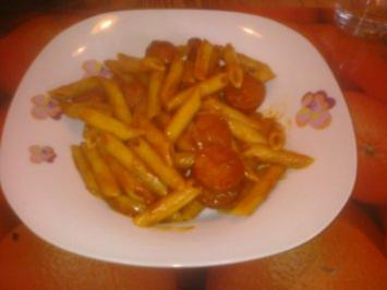 Rezept: Currywurst Pfanne