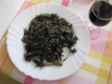 Toni's Arroz Negro  -  Toni's Paella Negra - Rezept