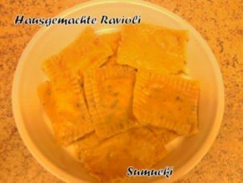 Hausgemachte Ravioli - Rezept