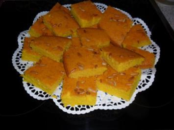 Sfouf- Libanesischer Grießkuchen - Rezept