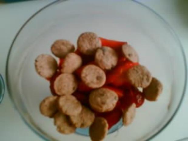 Erdbeer-Straciatella-Dessert - Rezept - Bild Nr. 3