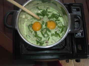 Bärlauch - Champignon - Sauce - Rezept