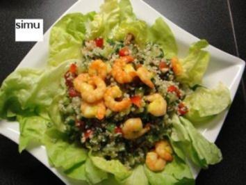 Couscous-Salat mit Crevetten - Rezept