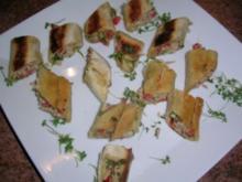 Thunfisch-Tramezzini-Rollen  - eine sehr sehr leckere Vorspeise - - Rezept