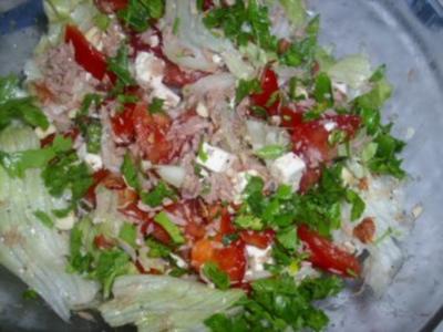 Hirtensalat ~ Coban Salatasi - Rezept