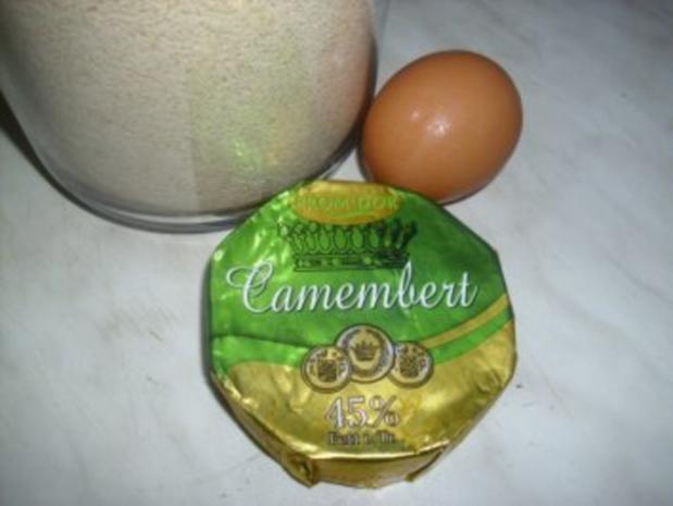 Camembert gebraten mit Preiselbeeren und Schlagsahne - Rezept - Bild Nr. 2